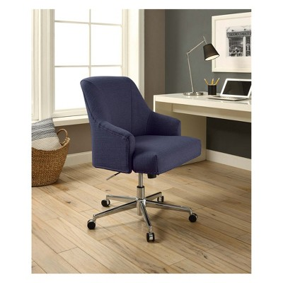 Style Leighton Home Office Chair Sanctuary Blue Serta Home Office Chairs Furniture Home