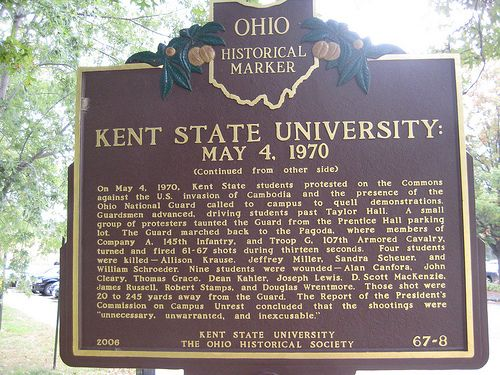 Kent state university shootings 1970