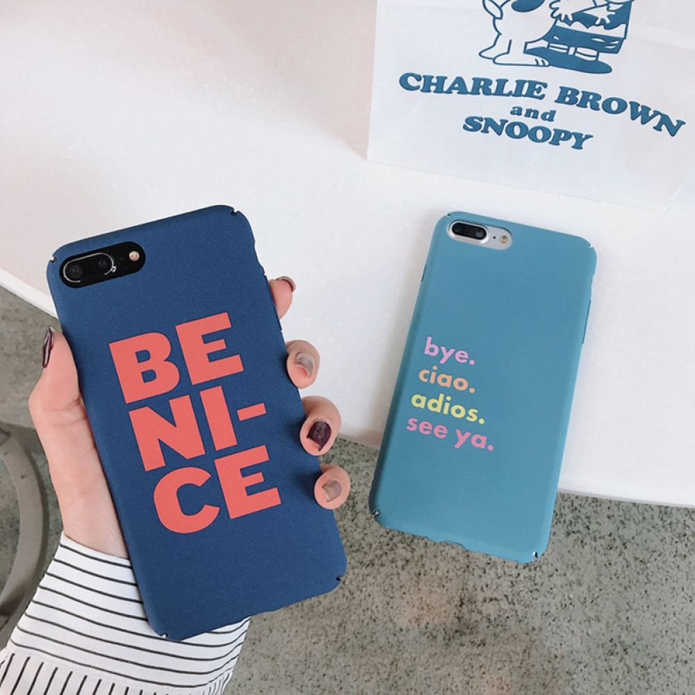 Colorful letter phone case iphone cases for iphone x xs