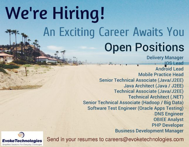 We are hiring for the below positions, come join us! Be part of a - obiee architect sample resume