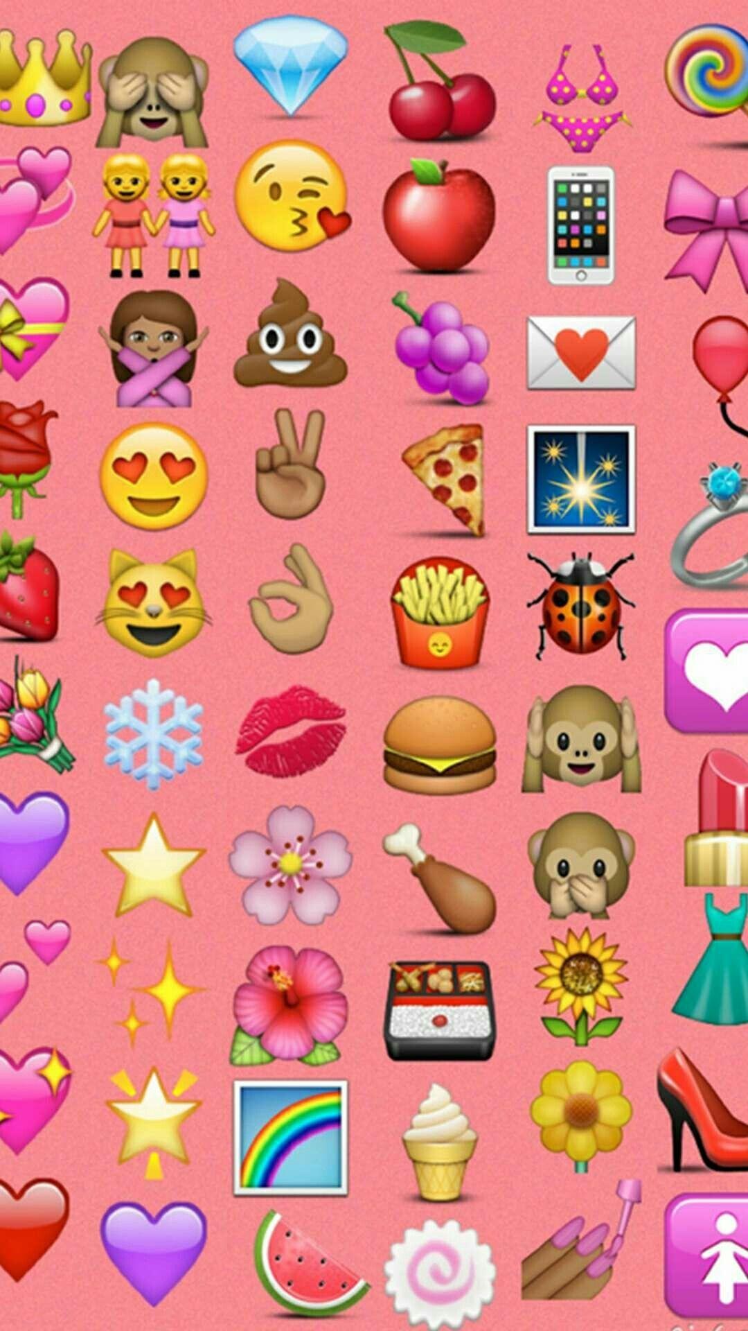1080x1920 Emoji Wallpaper, Emojis