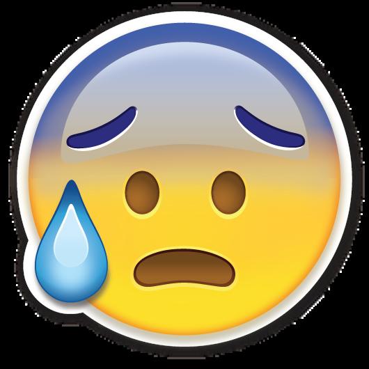 Face With Open Mouth And Cold Sweat Emojis Para Whatsapp Emoticones Emoji Emoticonos