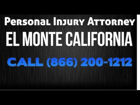 El Monte California Truck Accident Law Firm Personal Injury