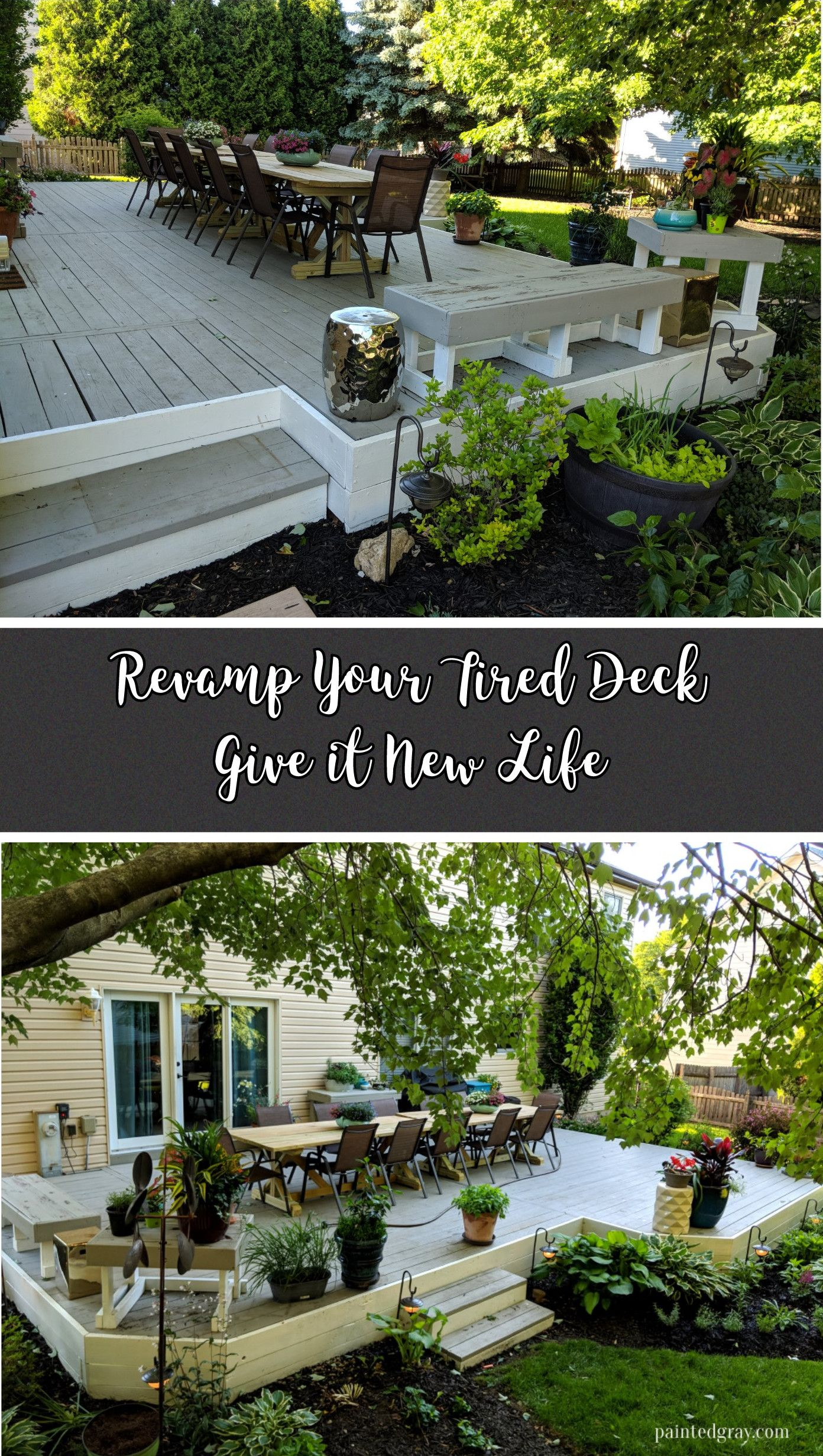 How To Revamp Your Deck