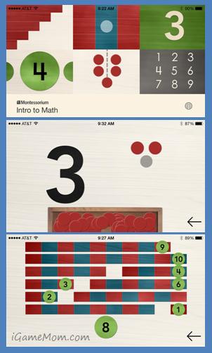 App Went Free Montessori Math Games for Preschoolers