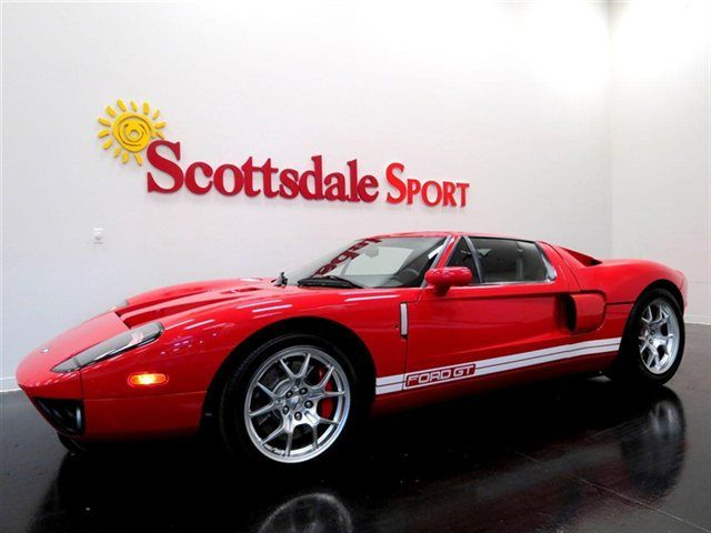 2005 Ford Gt 1 3 Stripe Delete Produced Mark Iv Red Stock