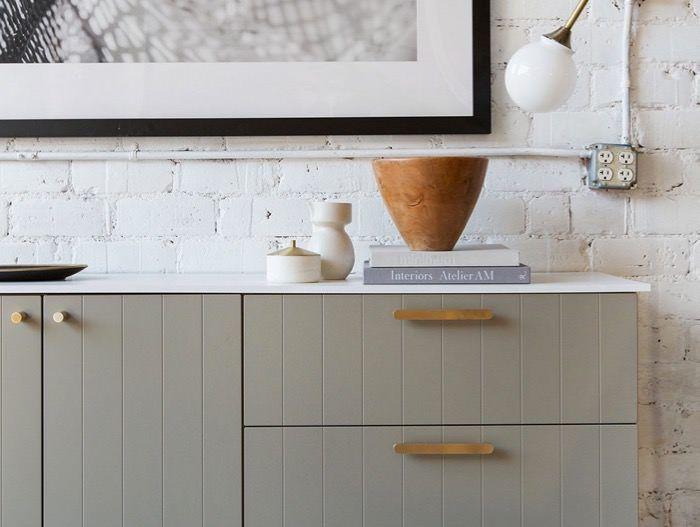Semihandmade custom cabinet doors for IKEA cabinets ...