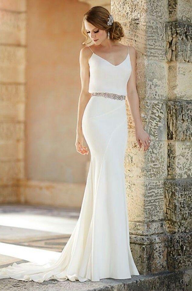 Vestidos novia modernos para matrimonio civil