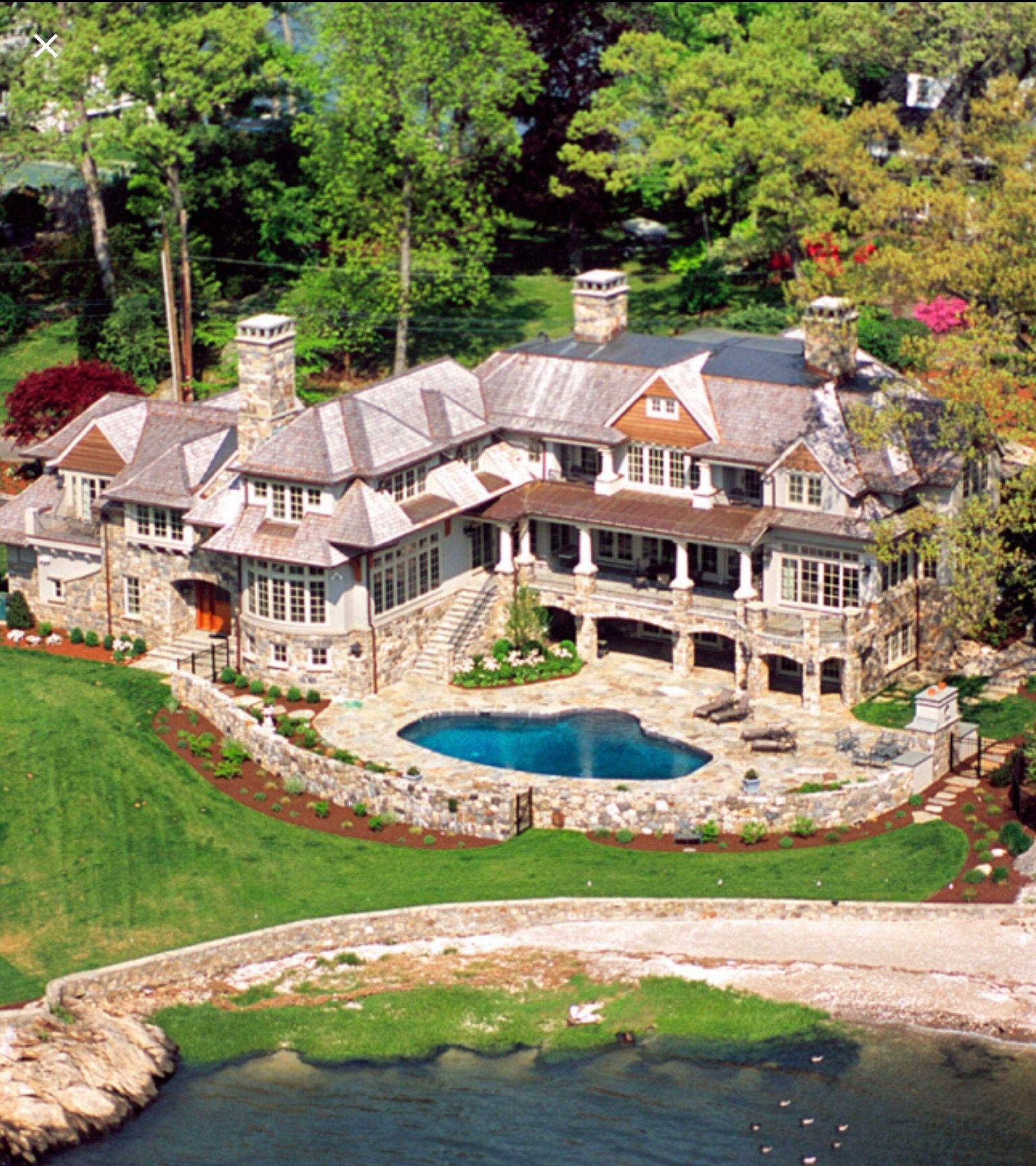 Aluxurylifestyle pinterestbillionaire mansiones - Mansiones de ensueno ...