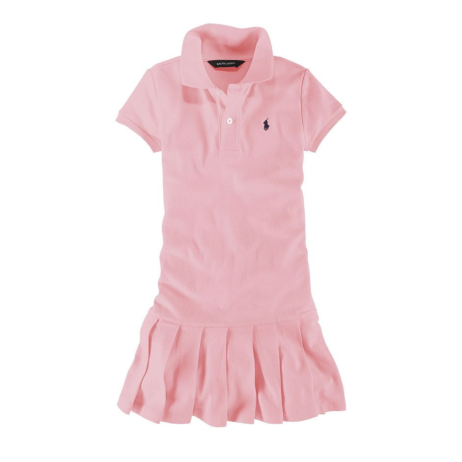 Polo dress. Pleated SkirtsDress GirlKids GirlsGirls DressesBlair HouseBaby  PrincessRompersRalph LaurenSpice