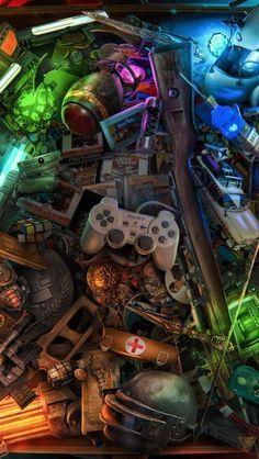 Wallpapers Fondos de Pantalla Gamer 4K para Celular HD