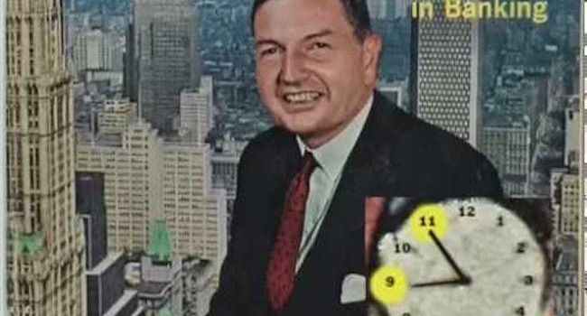 Forty Seven years ago Rockefeller laid out the reasons for the timing of the 9/11 attacks on a magazine cover.  This video explores why a 1967 magazine cover featuring Rockefeller reveals how the Illuminati had planned the 9/11 attacks before the twin towers had even been built.     Filmmaker Aaron Russo confirmed that the elite players, such as Rockefeller, knew the plan for 9/11 in advance.     Nick Rockefeller told Russo about the plan to microchip the population, warned him about 'an…