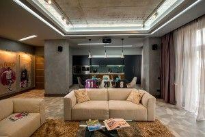 Modern male interior   Studio Home Interior.com   Living Room decor ...