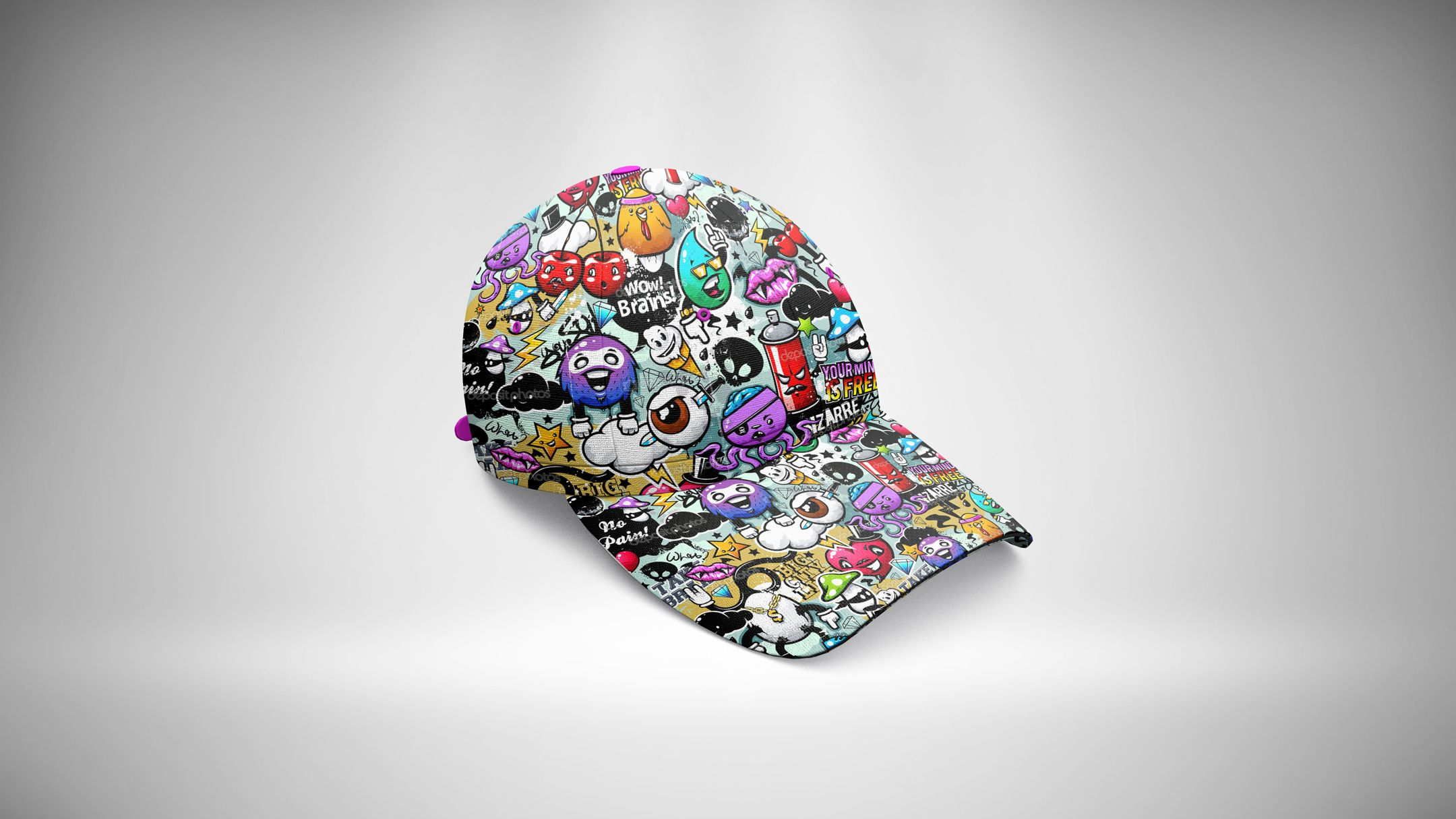 Baseball Hat Mockup 06 Baseball Hats Clothing Mockup Hats