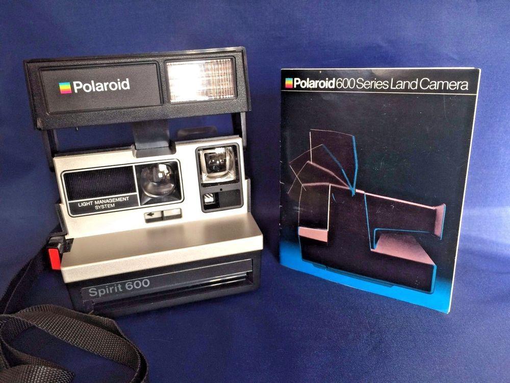 vtg polaroid spirit 600 instant film camera light management system rh pinterest com Polaroid Land Camera 600 Film What Use Polaroid 600 Cameras