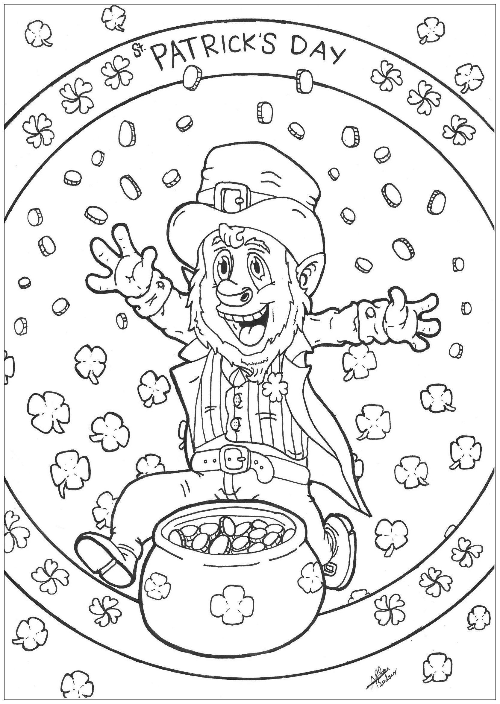 St Patrick Day Coloring Pages Fresh Coloring Pages Mickey Mouse
