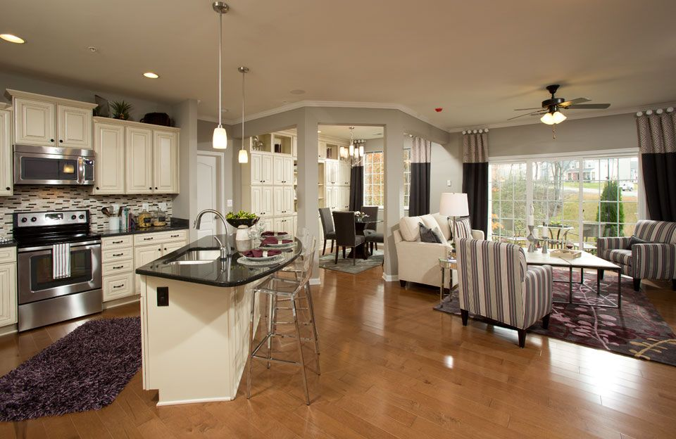 Drees Homes MODELS LIVING ROOMS GREAT ROOMS AND DINING ROOMS ...