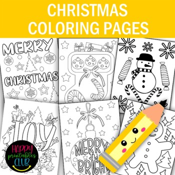 Christmas Coloring Pages Christmas Coloring Sheets Set Of 8 Pages Christmas Coloring Pages Christmas Coloring Sheets Christmas Colors