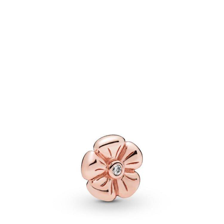 Pandora Necklace Set Classic Flower Petite Charm PANDORA Rose ...
