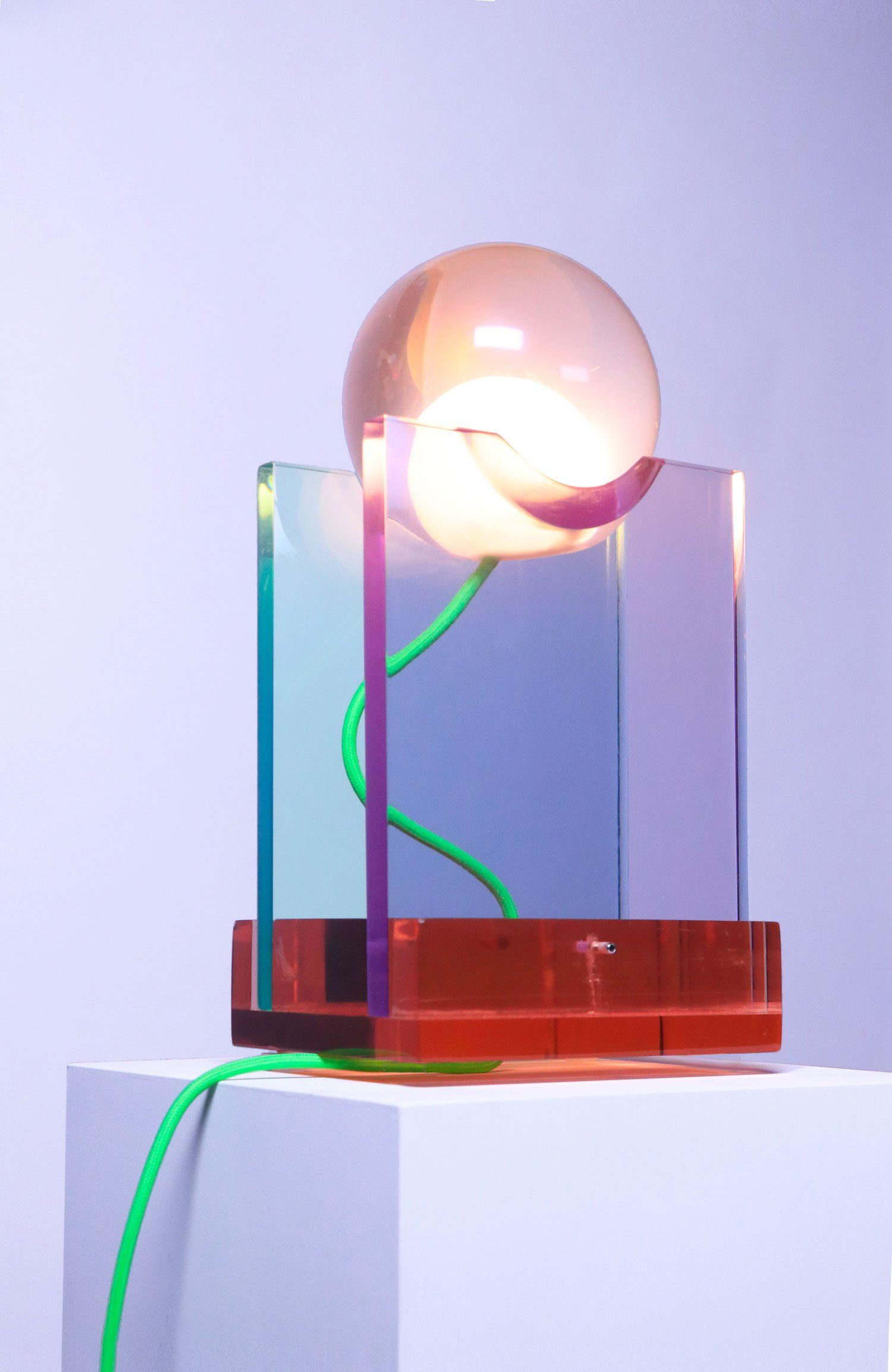 Rotonda Resin Table Lamp Contemporary And Design Lighting Lampe De Table Design Luminaire Table Lamp