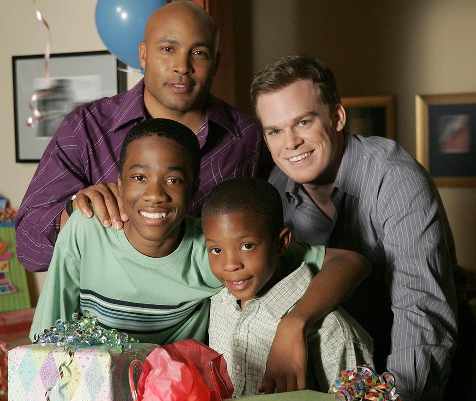 """David Fisher and his family at the end of Season 5 """"Six ..."""
