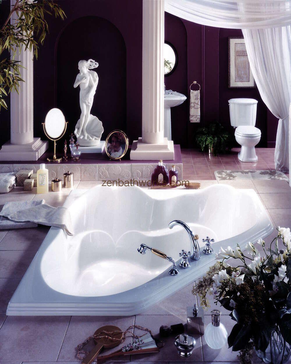 Zen Bathworks - Ariane Corner Bathtub by Neptune, $999.00 (http://www.zenbathworks.com/ariane/)