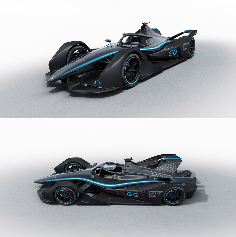 Mercedes' First Electric Race Car Has Been Unveiled, And