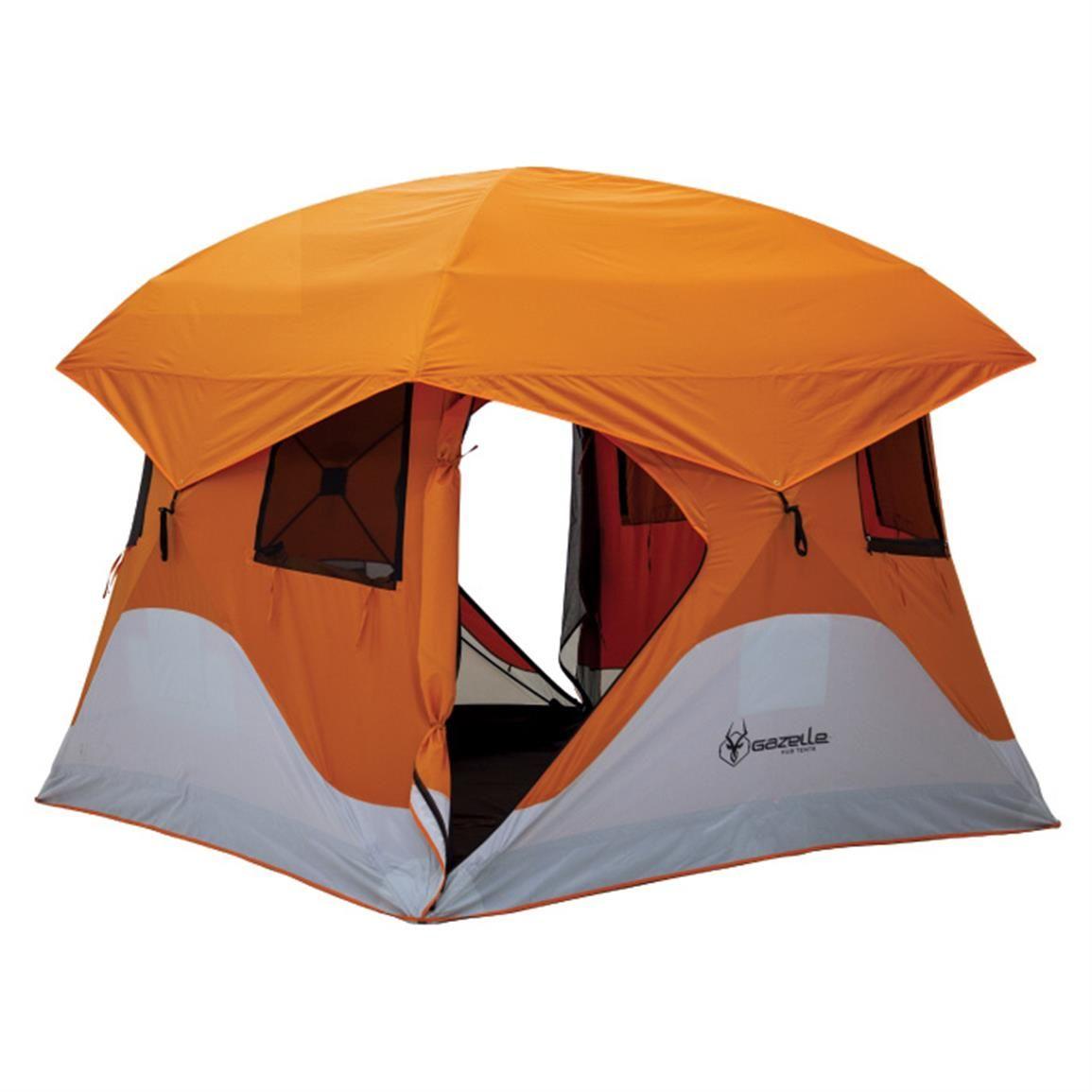 Gazelle 4-Person Pop-Up Tent  sc 1 st  Pinterest & Gazelle 4-Person Pop-Up Tent | Dome tent Tents and Camping