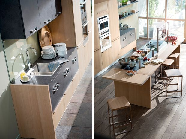 La cuisine équipée Métisse ou \'l\'esprit atelier\' du designer ...
