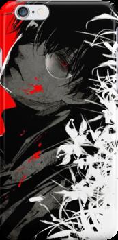 Kaneki Black Reaper iPhone Case & Cover