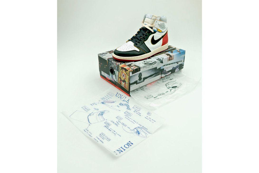 ae4a2c35f69b4e union los angeles jordan brand air 1 archives 2018 november footwear shoes  sneakers inspiration origins story