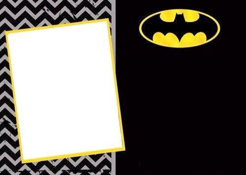 Invitación Batman cumple iker Pinterest Batman, Invitaciones y Cumple