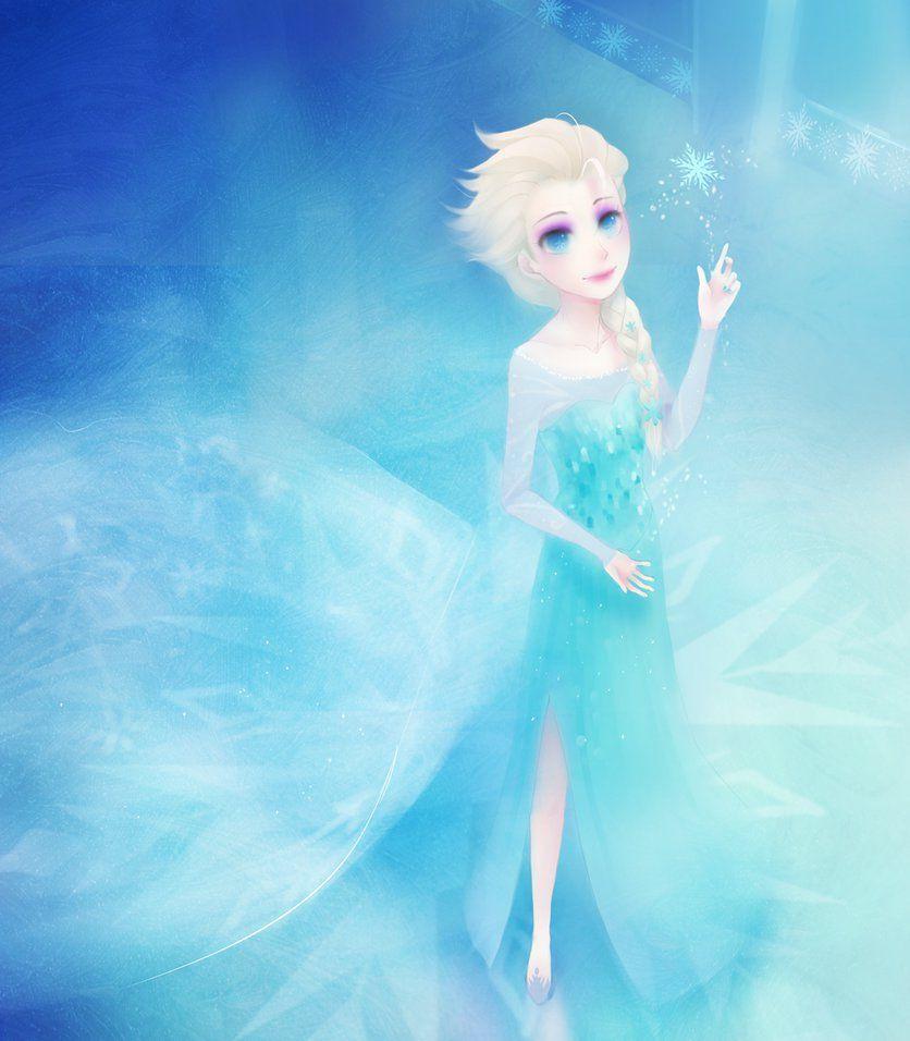 Winter Spell By Kadane On Deviantart Disney Artistas Ilustracao