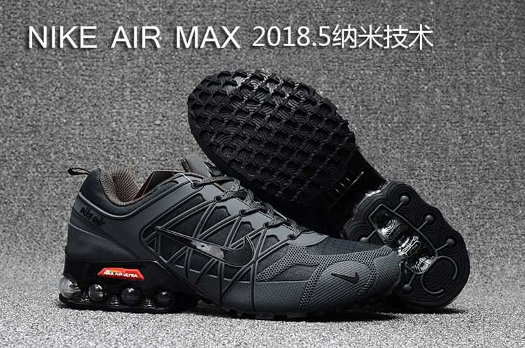 00751c1f3a04 2018.5 Nike Air Max Hot Run Shoes Carbon Gray For Men