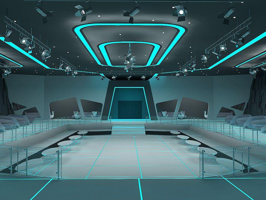 Luminlor Electroluminescent Coating Brings Tron Lighting