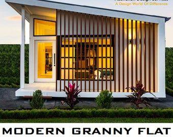 20x20 Tiny House 1 Bedroom 1 Bath 400 sq ft PDF Floor Plan Instant Download Model 1C