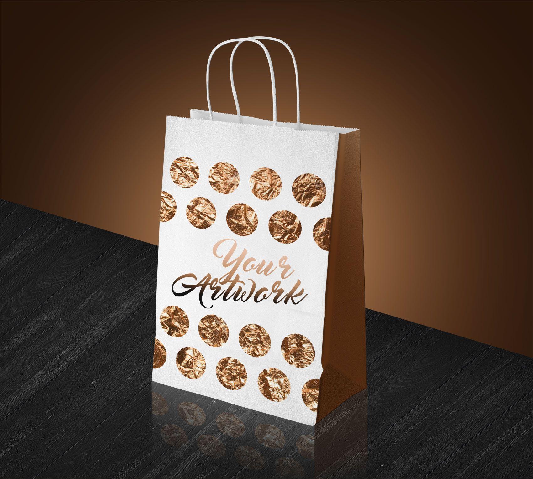Download Free White Paper Shopping Bag Mockup Psd Bag Mockup Mockup Psd Paper Shopping Bag