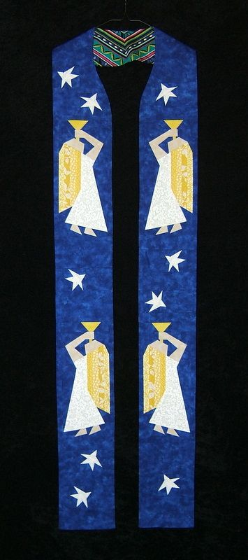 nice advent stole church banners stoles paraments. Black Bedroom Furniture Sets. Home Design Ideas