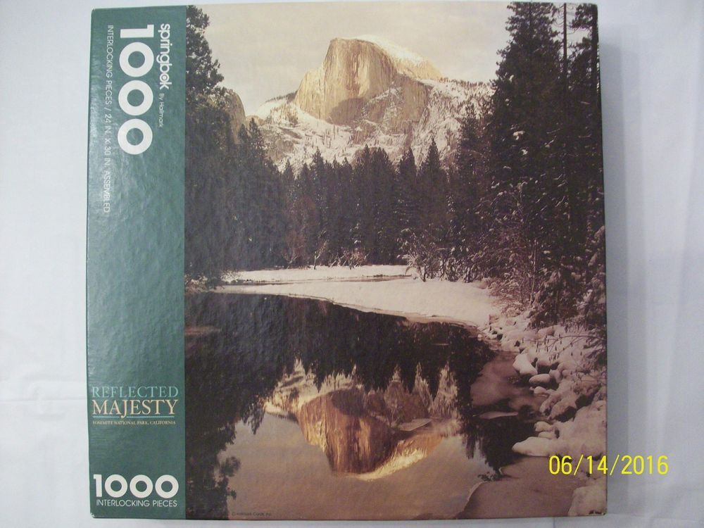 Details about Springbok Puzzle Reflected Majesty 1000
