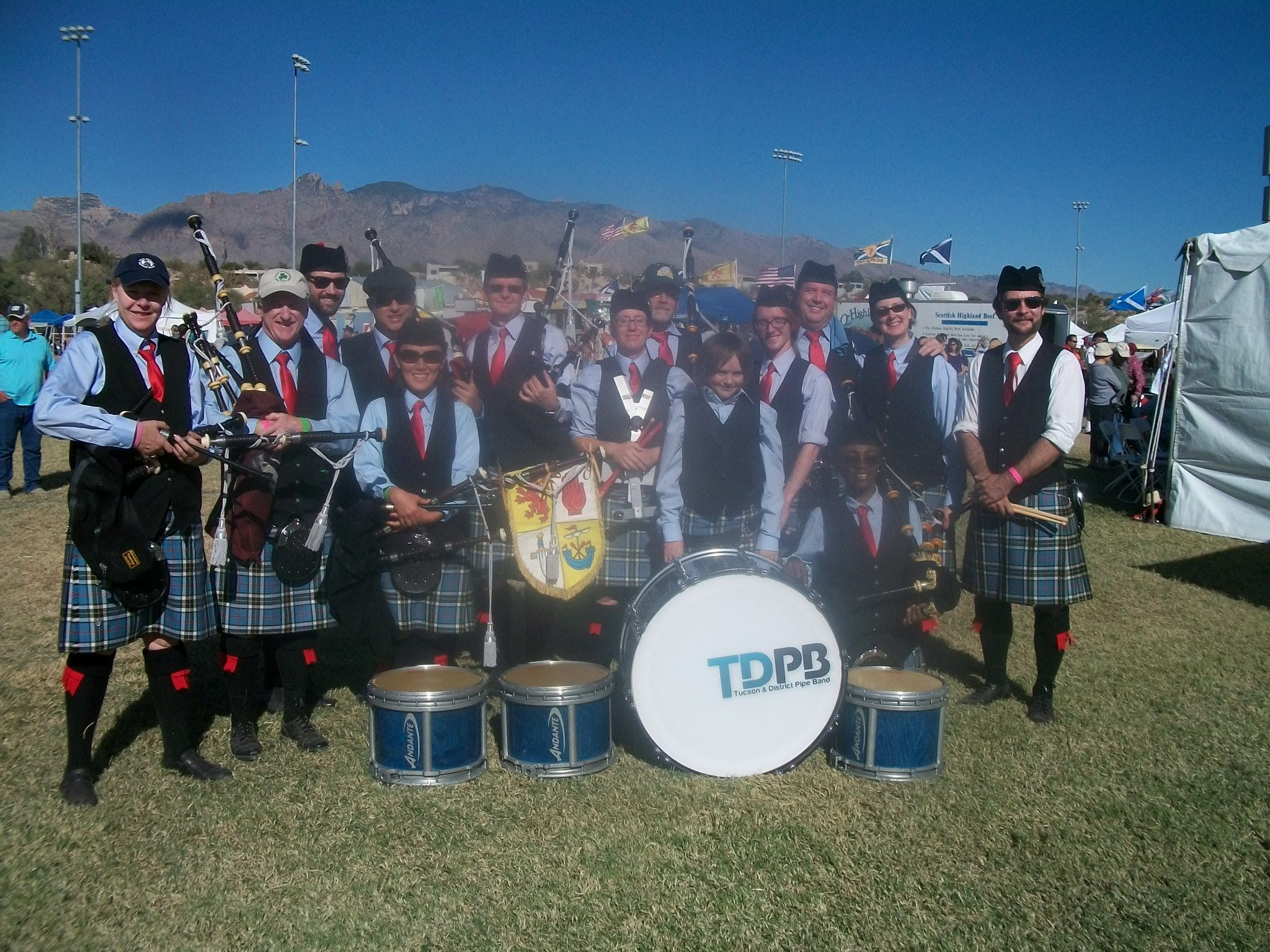 Tucson & District Pipeband Photo by Bruce Bailey Celtic