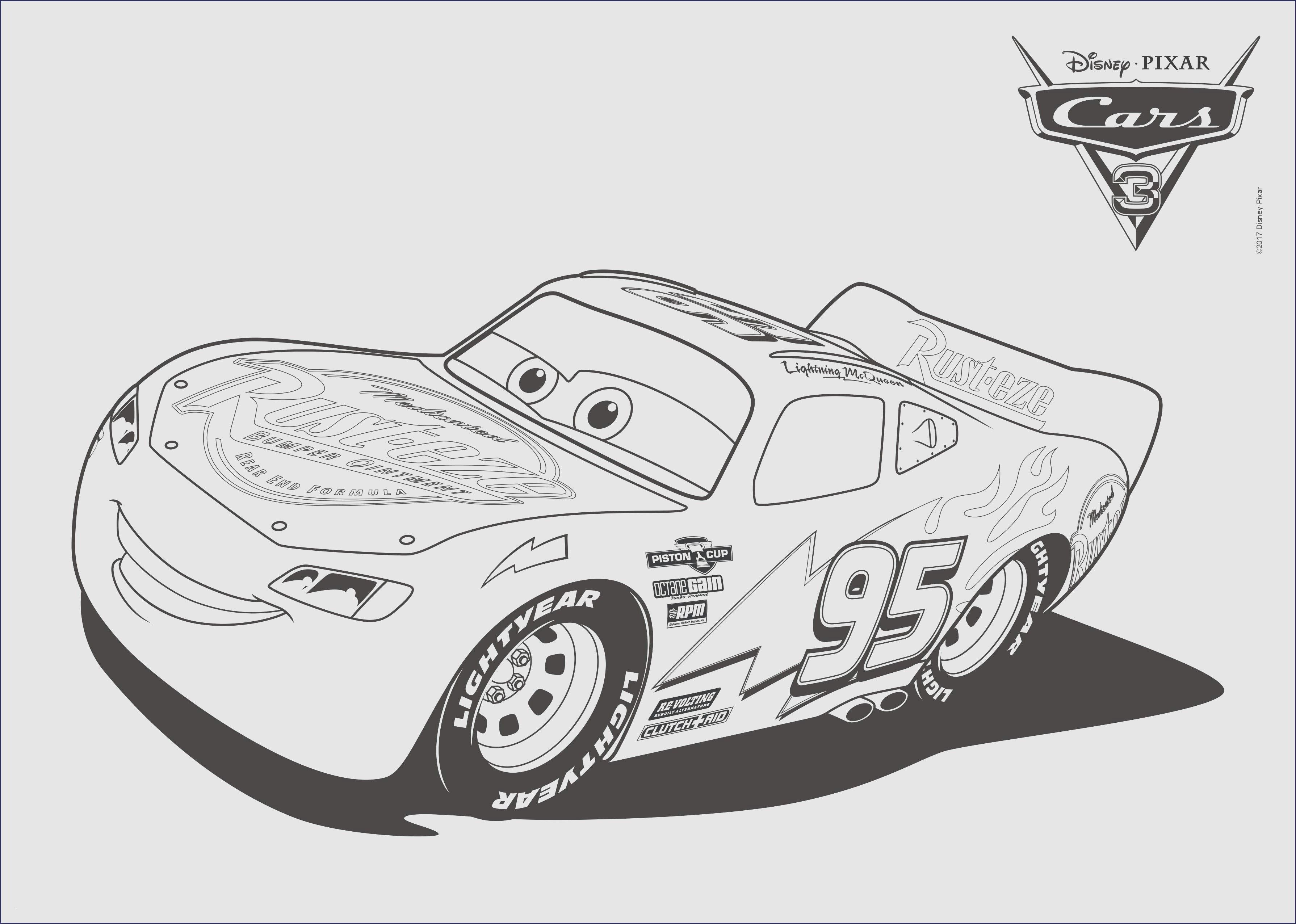 Frisch Lightning Mcqueen Malvorlagen  Cars coloring pages, Disney
