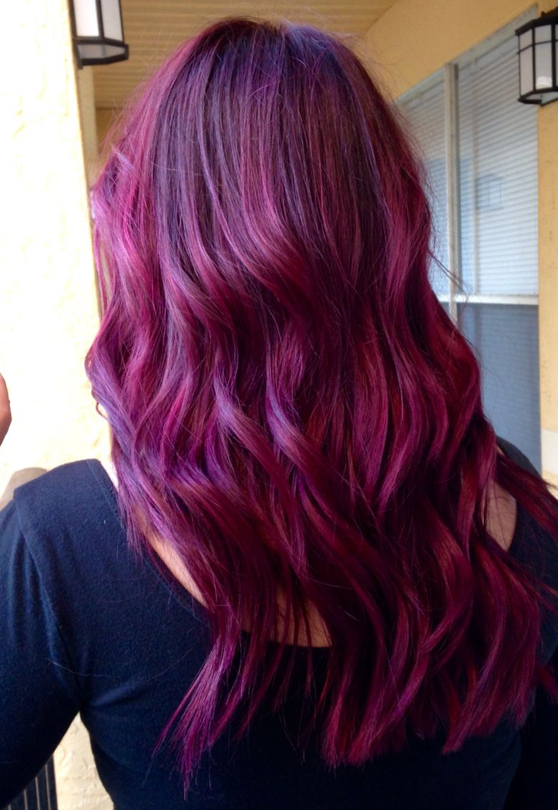 Plum Joico Vero K Pak Amethyst Orchid Ruby Red
