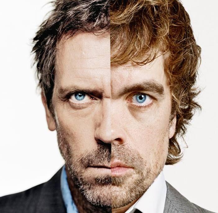 Dr. House & Peter Dinklage (Tyrion Lannister) Hugh