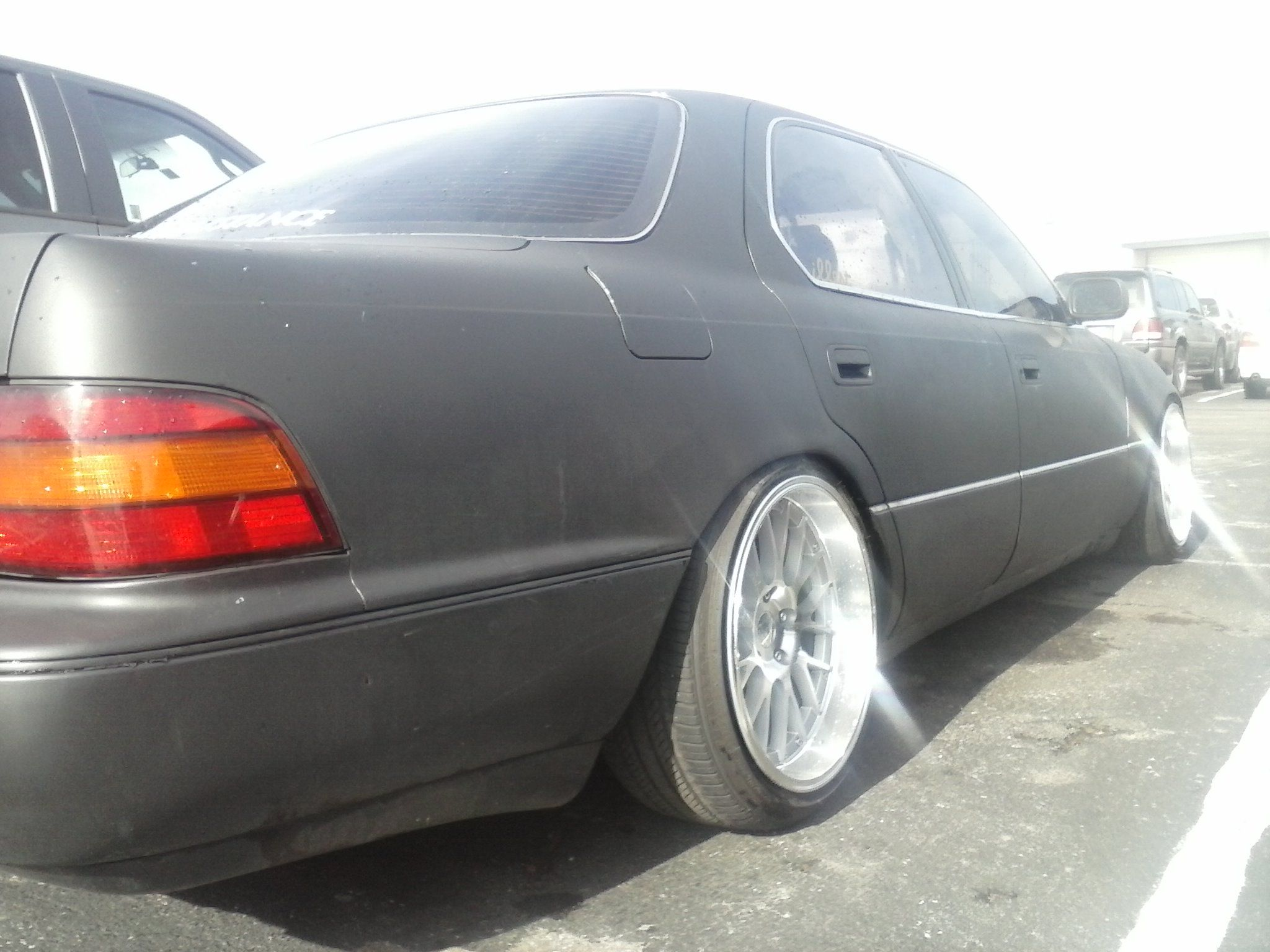 shooting the ls400 with satin black paint page 3 club lexus forums [ 2048 x 1536 Pixel ]