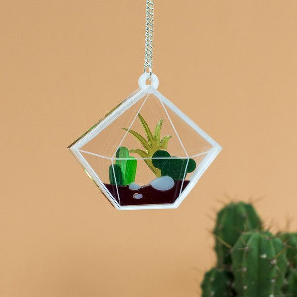 Do you like cacti likewe like cacti? Then you'll be sure to love this brand spanking new jewellery range inspired by the finest of horticultural delights. Terr