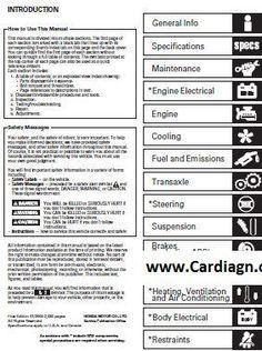 acura rsx 2004 2006 service repair manual pdf cars pinterest rh ar pinterest com Acura RSX Type S 2004 Acura RSX Type S