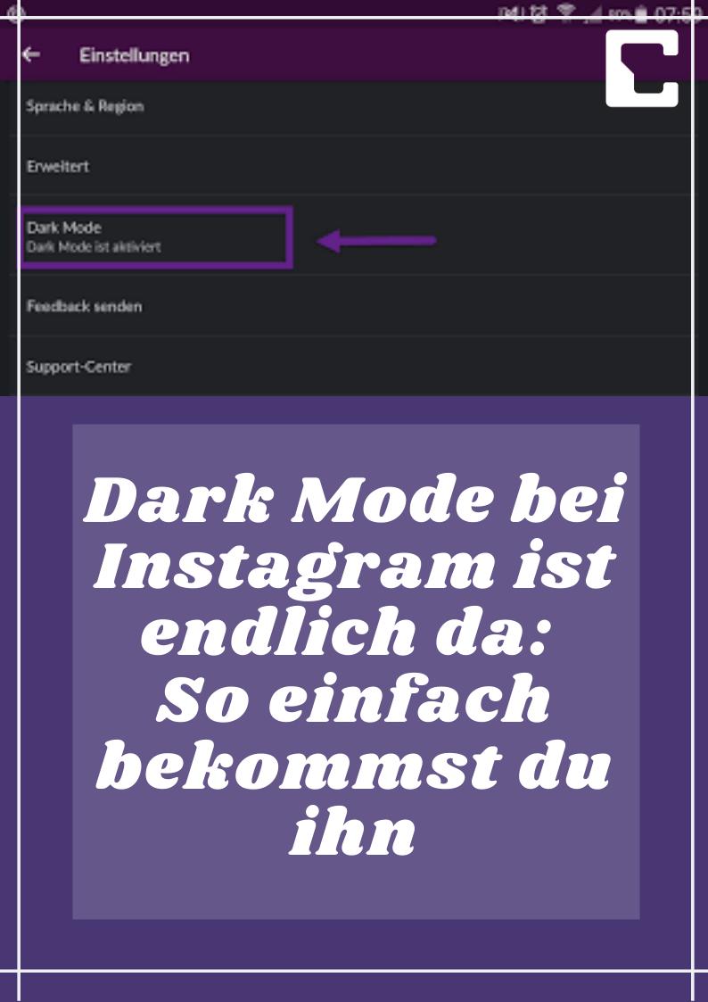 Instagram Dark Mode Aktivieren