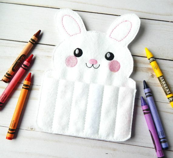 Felt crayon roll up easter toys for kids easter gift easter felt crayon roll up easter toys for kids easter gift easter bunny crayon roll easter basket stuffers felt toy easter rabbit gift negle Choice Image