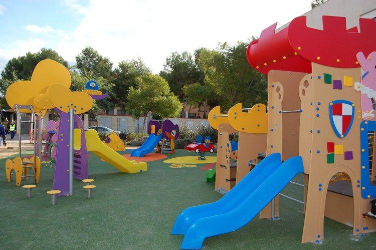 Fuente Pocoyó Parque Infantil Al Aire Libre Parques Infantiles Parques