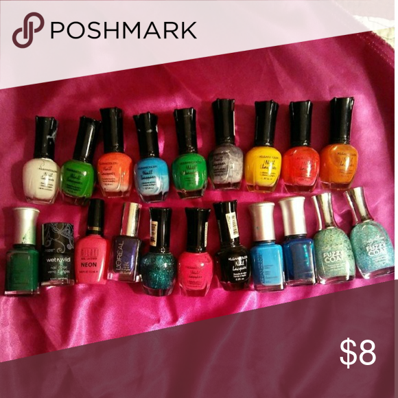 20 Nail Polish for $6 Klean Color | Pink blue, Customer support and ...